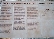 Substructure of El Castillo
