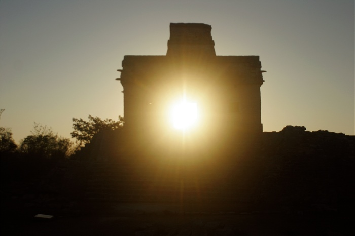 The Temple of the Sun at Equinox